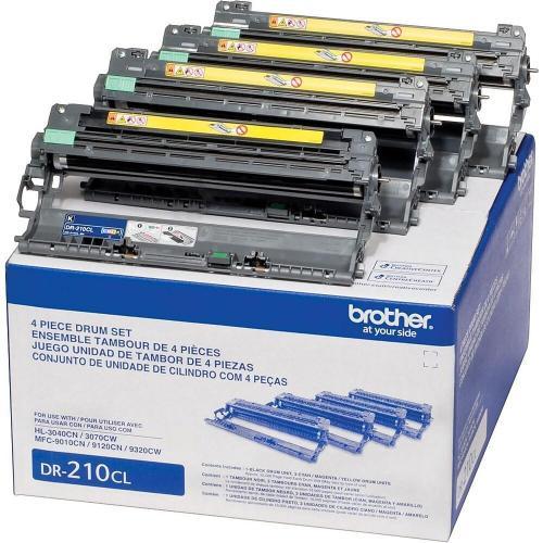 Brother DR-210CL, Réinitialisation tambour (photoconducteur)