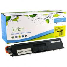 Compatible Brother TN-436 Toner Jaune HY Fuzion (HD)