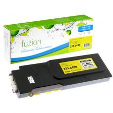 Compatible Dell C3760N Toner Jaune Fuzion (HD)