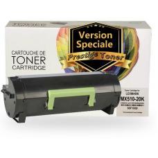 Réusinée LEXMARK 60F1X00 (601X) Certifiée Prestige Toner