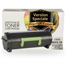 Réusinée LEXMARK 60F1H00 (601H) Certifiée Prestige Toner