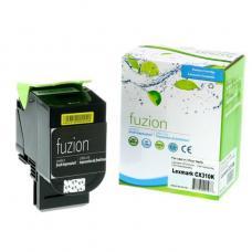 Compatible Lexmark 80C1SK0 Noir (2.5K) Fuzion (HD)