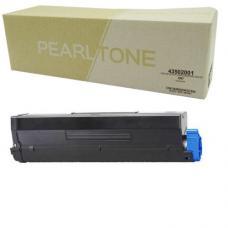 Compatible Okidata 43502001 Toner HY Noir (EHQ)