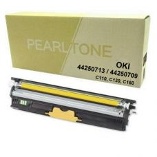 Compatible OKI C110 / 130 / MC160 Tone Jaune 2.5k (HD)