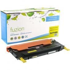 Recyclée Samsung CLT-Y409S Toner Jaune Fuzion (HD)