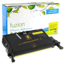 Recyclée Samsung CLT-Y508L Jaune Toner Fuzion (HD)