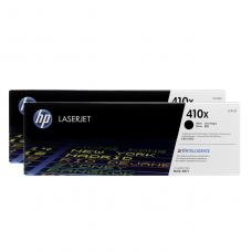 Original HP CF410XD (410X) Toner Noir / Duo Pack