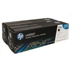 Originale HP CB540AD (125A) Toner / 2 X Noir