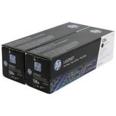 Originale HP CE320AD (128A) Toner / 2 X Noir