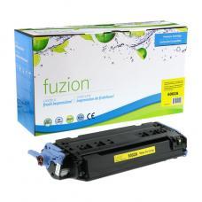 Recyclée HP Q6002A Toner Jaune Fuzion (HD)