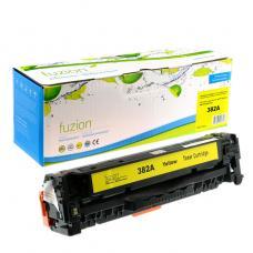 Recyclée HP CF382A (312A) Toner Jaune Fuzion (HD)
