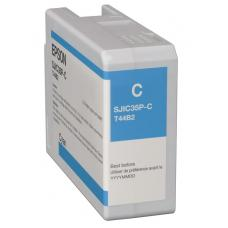 Epson SJIC35P-C, Cyan Ink Cartridge SJIC35P (C)
