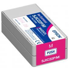 Epson TM-C3500 Cartouche d'encre Magenta SJIC22P (M)