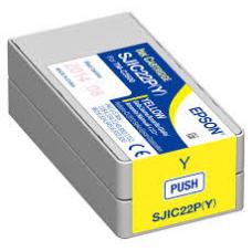 Epson TM-C3500 Cartouche d'encre Jaune SJIC22P (Y)