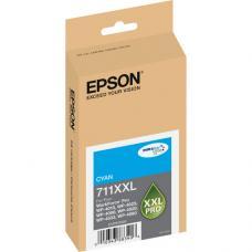 Epson 711XXL, T711XXL220 Cartouche d'encre Originale Cyan pigment