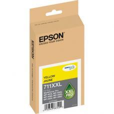 Epson 711XXL, T711XXL420 Cartouche d'encre Originale Jaune pigment