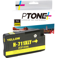 Compatible N°711XL | CZ132A Jaune PTone (HD)