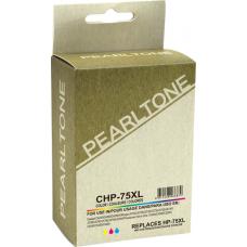 Recyclée HP75XL Couleur (EHQ)