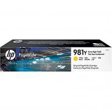 Original HP 981Y Jaune / 16,000 Pages