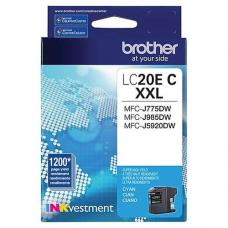 Original Brother LC20EC XXL Cyan
