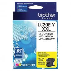 Original Brother LC20EY XXL Jaune