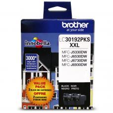 Original Brother LC-3019 XXL / 2 X Noir