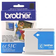 Original Brother LC51 Cyan