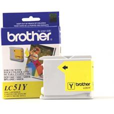 Original Brother LC51 Jaune
