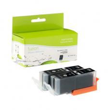 Compatible Canon PGI-270XL 2 X Noir Fuzion (HD)